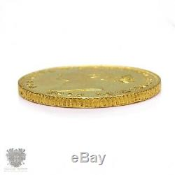 Australian Sydney mint 1864 full gold sovereign coin EF+ antique
