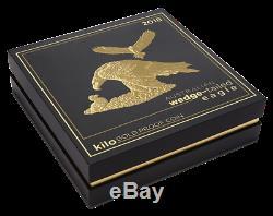 Australian Wedge-tailed Eagle 2018 1 Kilo Gold Proof Coin