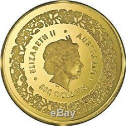 Australien 500 Dollar 2015 Känguru (1.) Australian Fabulous Four 5 Oz Gold PP