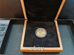 Boxed 1918 Gold Sovereign King George V S