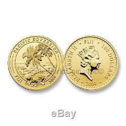Fiji 2009 Pacific Sovereign 1 oz Gold with Box & COA SKU#6477