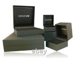 Gemondo 9ct Yellow Gold 0.33ct Sapphire & Diamond Pendant on Chain
