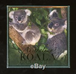 Genuine 2009 Australian 1/10 Ounce Proof Gold Koala