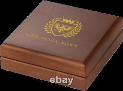 Germania 2019 100 Mark Oak Leaf Gold Proof 1 Oz 999 Gold Coin