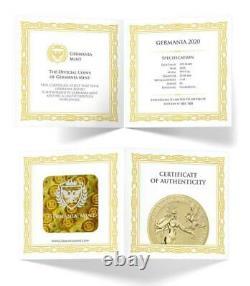 Germania 2020 100 Mark Germania 1 Oz 999.9 Gold BU Coin