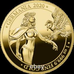 Germania 2020 100 Mark Germania 1 Oz 999.9 Gold Proof Coin