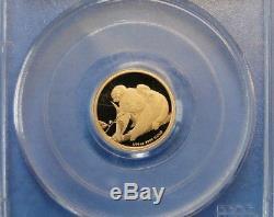 Gold 1/10 Oz. Australian Koala 2010-p $15 Pcgs Pr69dcam