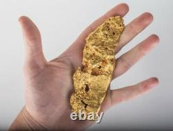 Huge! Natural gold nugget from Australia. 480.87 Grams With Shipping Insurance