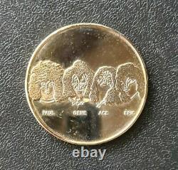 KISS AUCOIN MEMORABILIA- 1980 Australian Gold Coin- vintage- rare