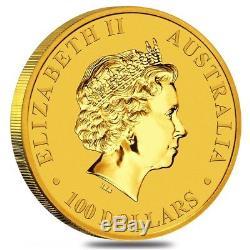 Lot of 2 2018 1 oz Australian Gold Kangaroo Perth Mint Coin. 9999 Fine BU In
