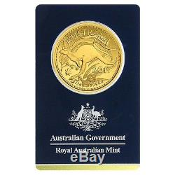 Lot of 5 2017 1/2 oz Gold Kangaroo Coin Royal Australian Mint Veriscan. 9999 F