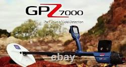 Minelab GPZ 7000 Waterproof Gold Nugget Detector FREE TRAINING & US SHIPPING