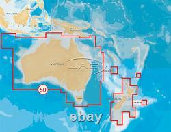 Navionics+ Gold Xl9 50xg Card Australia-wide & New Zealand Maps Gps Chart Sd