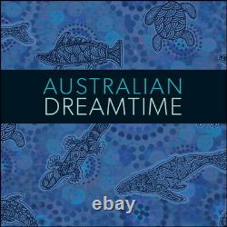Niue 2019 Australian Wildlife Dreamtime $10 5 Oz Pure Silver Gilded Animal Proof