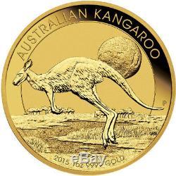 ON SALE! 1 oz Australian Gold Kangaroo (Random Year, BU)