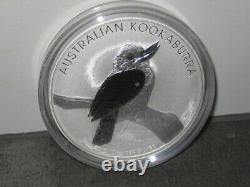 Perth Mint AUSTRALIAN KOOKABURRA 2010 10oz SILBER