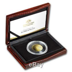 Presale 2018 Australia 1 oz Gold $100 Map of the World Domed Proof Coin