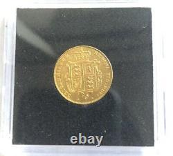 RARE GOLD COIN 1841 Australian Half Sovereign Victoria Young Head