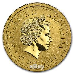Random Year 1/4 oz Gold Australian Kangaroo Coin