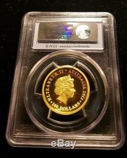 Rare 2011 Australia High Relief Gold Koala 1 oz. 9999 $100 PCGS PR70 DCAM PF 70