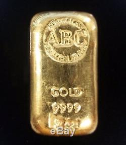 Rare 2oz Gold Bar ABC Bullion Company Australia