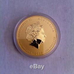 Rare Australian Perth Mint 2010 $200 Lunar Year Tiger 2 oz. 9999 Gold Series 2