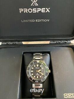 Seiko Prospex Sne520p 279/800 Rare Limited Edition Green And Gold Australia