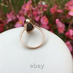 Sold Not available Australia Boulder Opal Ring 18k Rose gold 18.20cts KG112