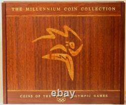 Sydney 2000 Olympic Gold / Silver Proof Millennium Coin Collection