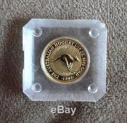 The australian Nugget 1/10 Oz. 9999 Gold 1997 15 Dollars